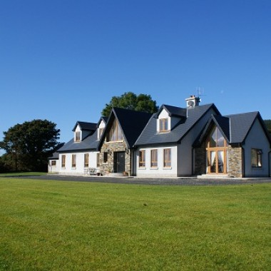 Joe fallon architectural design dublin ireland house for Irish bungalow designs